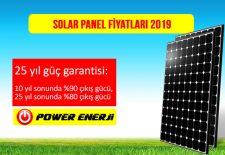 Solar panel fiyatı 2019 güneş paneli fiyatları monokristal polikristal 270 280 300 320 360 watt enerji panel
