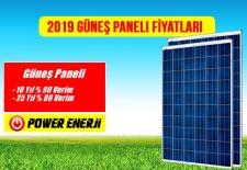 Güneş Paneli Fiyatı 2019 Polikristal - Monokristal