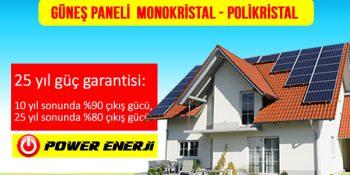 Güneş Paneli Seçimi Monokristal mi Polikristal mi Fiyat ve Özellikleri