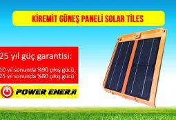 kiremit güneş paneli solar tiles fiyatı 10watt 20watt 30watt