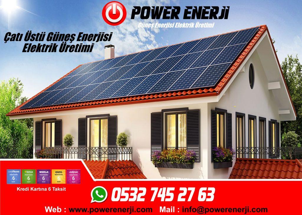 Home solar energy solar panel -POWER ENERJİ satis.powerenerji.com
