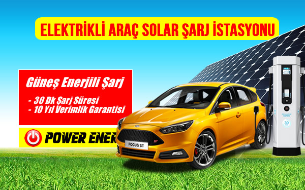 Electric Cars solar charge station