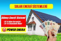 Solar Enerji Sistemleri Fiyatları