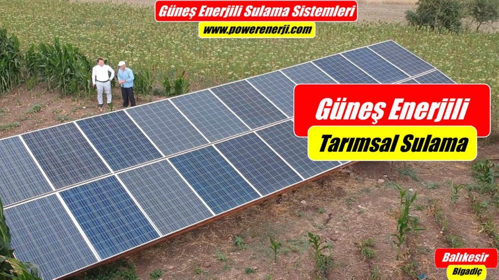 Güneş Enerjili Sulama Sistemi Hibesi İle Kurulan Solar Pompa Nasıl çalıştırılır
