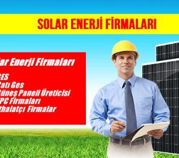 en iyi solar enerji firmaları
