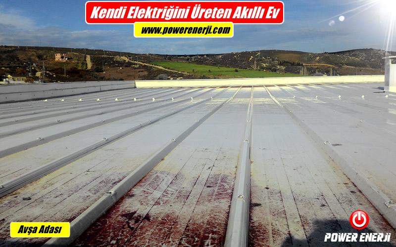 çatı güneş paneli kurulumu