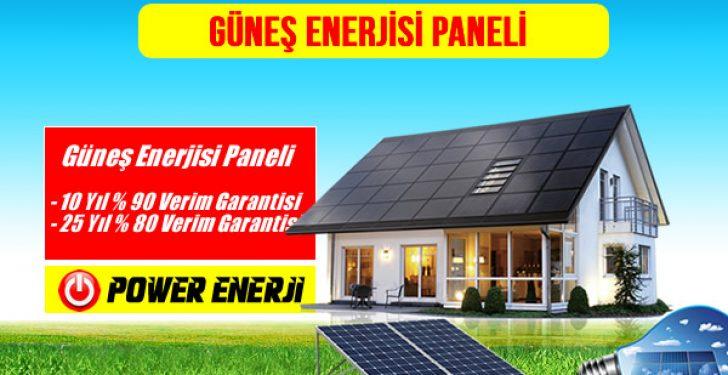 Güneş Enerjisi Paneli yani solar panel