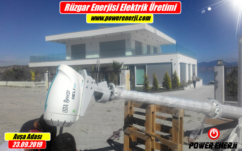 Rüzgar Enerjisi Akıllı Ev Sistemi