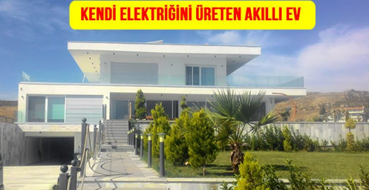 Rüzgar Enerjisi ve Güneş Enerjisi ile Kendi Elektriğini Üreten Akıllı Ev