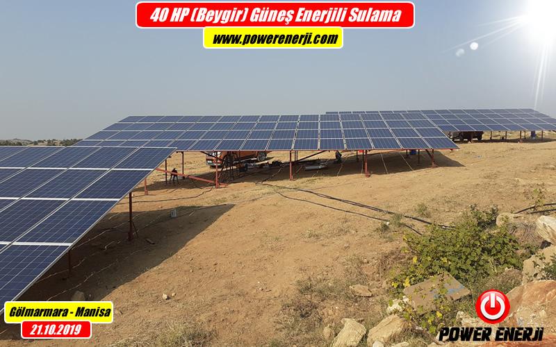 40hp 30kw pompa güneş enerjisi sulama sistemi