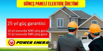 Güneş Paneli Elektrik Üretimi Fiyatları 1 kw 5 kw 10 kw 100 kw 250 kw 500 kw 1mw Kurulumu