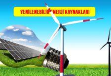 Yenilenebilir Enerji Kaynakları Nelerdir