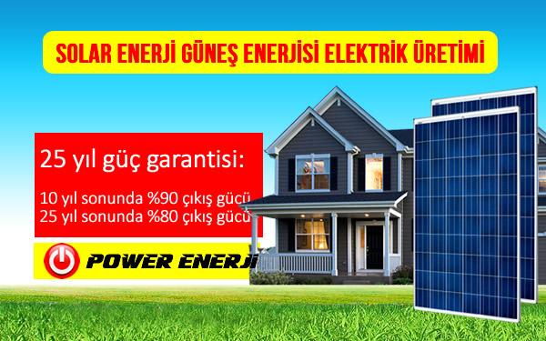 Solar Enerji Güneş Enerjisi Elektrik Üretimi