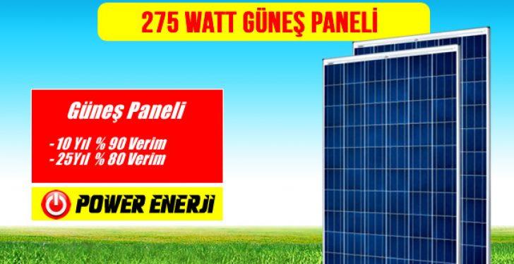 275 Watt Güneş Paneli Fiyatı