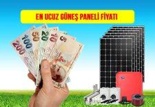 en ucuz güneş paneli fiyatı