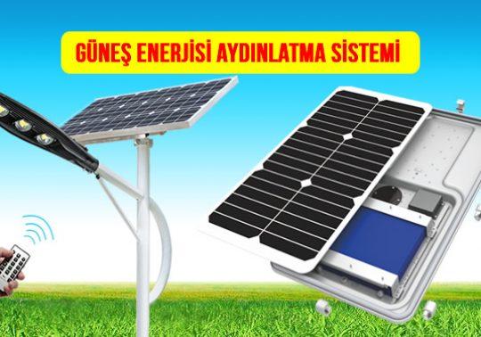 Güneş Enerjisi Aydınlatma Solar Lamba Fiyatı