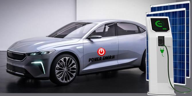 elektrikli araç şarj güneş enerjisi