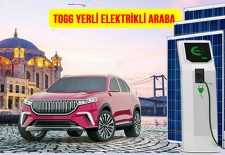 togg yerli elektrikli araba