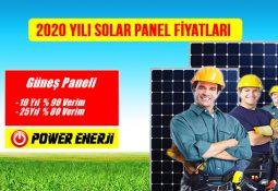 2020 solar enerji paneli fiyatları güneş enerjisi elektrik üretimi maliyeti (Ges)