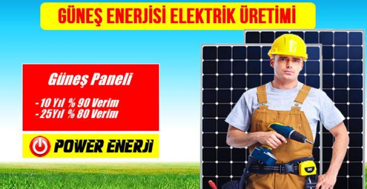 Güneş Enerjisi Elektrik