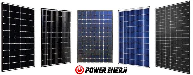 güneş paneli çeşitleri polikristal monokristal perc half cut monoblok black power solar panel