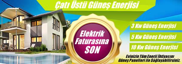 Çatı Üstü Güneş Enerjisi Elektrik Üretimi Sistemleri
