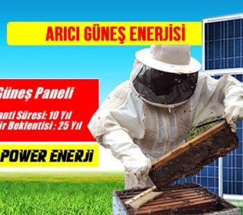 Arıcı güneş enerjisi