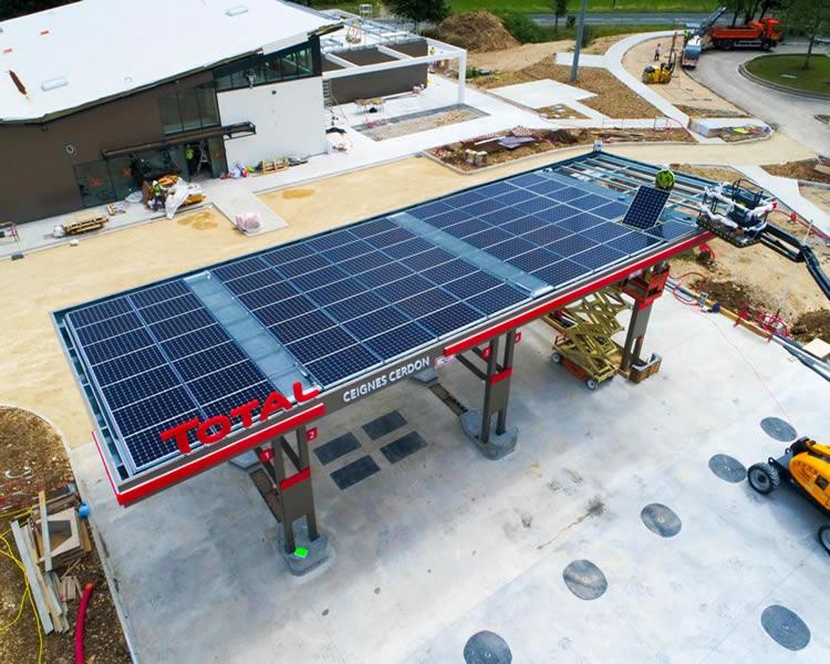 benzinlik güneş enerjisi