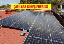 Ev Çatılarında Güneş Paneli Enerjisine Talep Giderek Artıyor