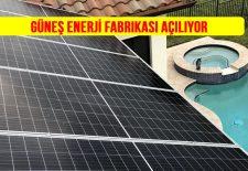 Güneş Paneli Fabrikası