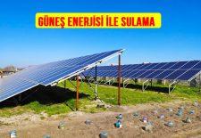 Güneş Enerjisi ile Tarla Sulama