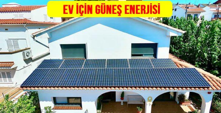 Ev Elektrik İhtiyacı için Kaç Adet Güneş Paneli Gerekli?
