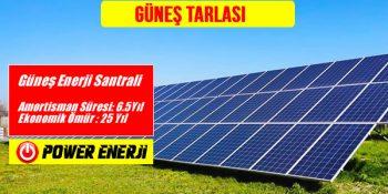 Güneş Tarlası Maliyeti nedir Güneş Tarlası Kurulumu nasıl yapılır ve Güneş Tarlası Aylık Kazancı nedir Güneş Tarlası Getirisi nedir Güneş Tarlası Devlet Desteği var mıdır? Solar enerji paneli yatırımı nasıl yapılır?