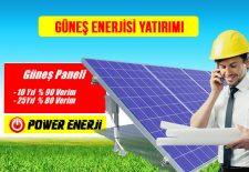 güneş enerjisi yatırımı enerji yatırımları karlı mı aylık getirisi maliyeti kurulumu