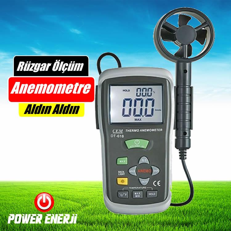 Rüzgar Hızı Ölçüm Cihazı Nedir Rüzgar hızını ve yönünü hangi alet ölçer Anemometre fiyatları
