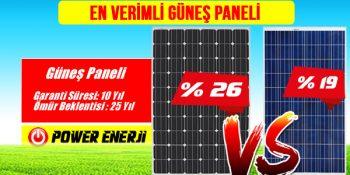 En Verimli Güneş Paneli Monokristal mi Polikristal mi Solar Panel Farkları