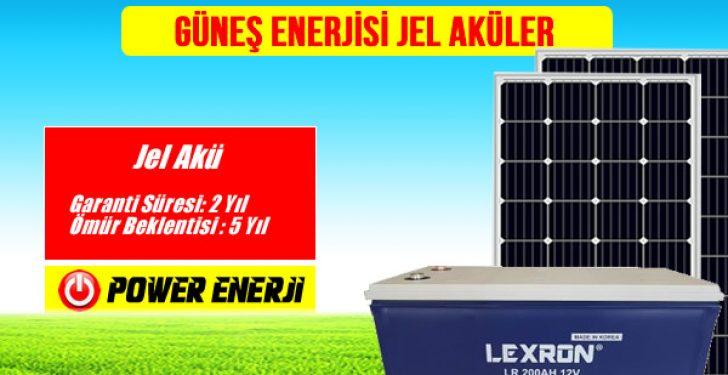 Güneş Enerjisi Elektrik Üretimi Solar Enerji Paneli Aküsü Güneş Enerjisi Aküsü Jel Akü ile Sulu Akü Arasındaki Farklar