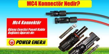 Güneş Enerjisi Solar Panel Bağlantı Aparatı Jak yani mc4 konnectör nedir ne işe yarar bağlantısı nasıl yapılır