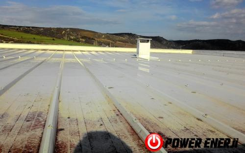 10 kw çatı üzeri güneş enerji santrali. (1)