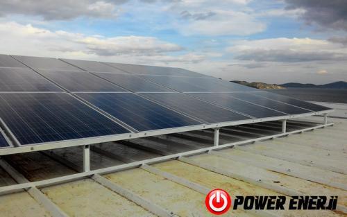 10 kw çatı üzeri güneş enerji santrali. (14)