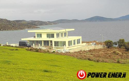 10 kw çatı üzeri güneş enerji santrali. (18)