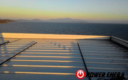 10 kw çatı üzeri güneş enerji santrali. (3)