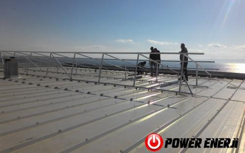 10 kw çatı üzeri güneş enerji santrali. (5)