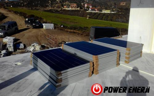 10 kw çatı üzeri güneş enerji santrali. (7)