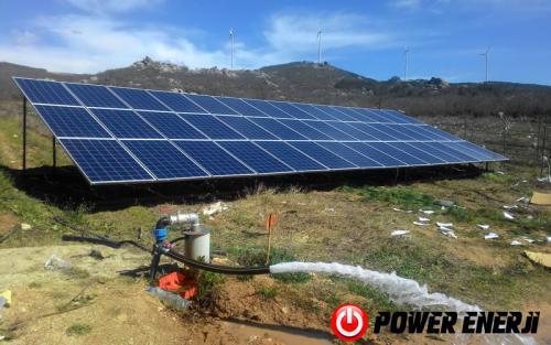 Güneş Enerjili Tarımsal Sulama Sistemleri
