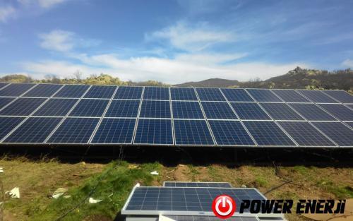 9-Güneş Enerjili Sulama Sistemi 10hp-15hp-20hp-25hp-30hp-40hp-50hp