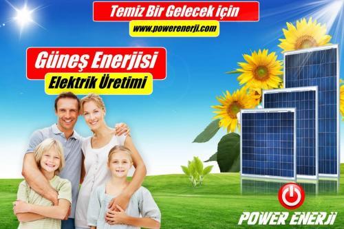ev için güneş Paneli kurulumu POWER ENERJİ www.powerenerji.com