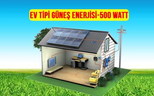 ev tipi güneş enerjisi 5000 watt