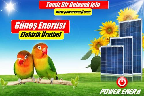 evler için güneş Paneli fiyatı POWER ENERJİ www.powerenerji.com