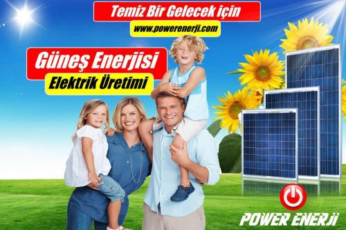 evler için güneş Paneli kurulumu POWER ENERJİ www.powerenerji.com